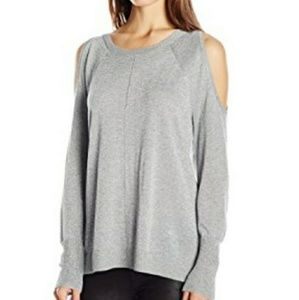 Vince Camuto XS Sweater Pullover Cold Shoulder